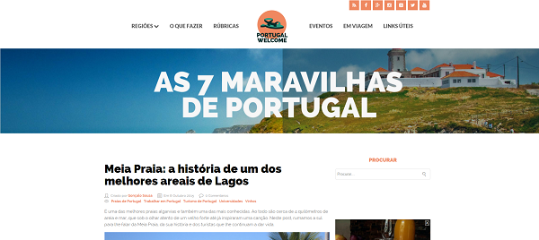 Site Portugal Welcome